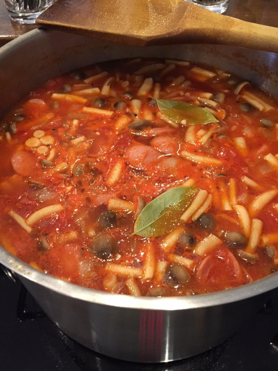 重ね煮スープランチ